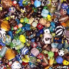 Lots of beads for Creative 360 bead night