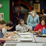 MDN photo of candy-making class.