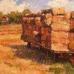 Hauling Bales by Alan Maciag