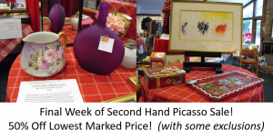 Annual Picasso Sale