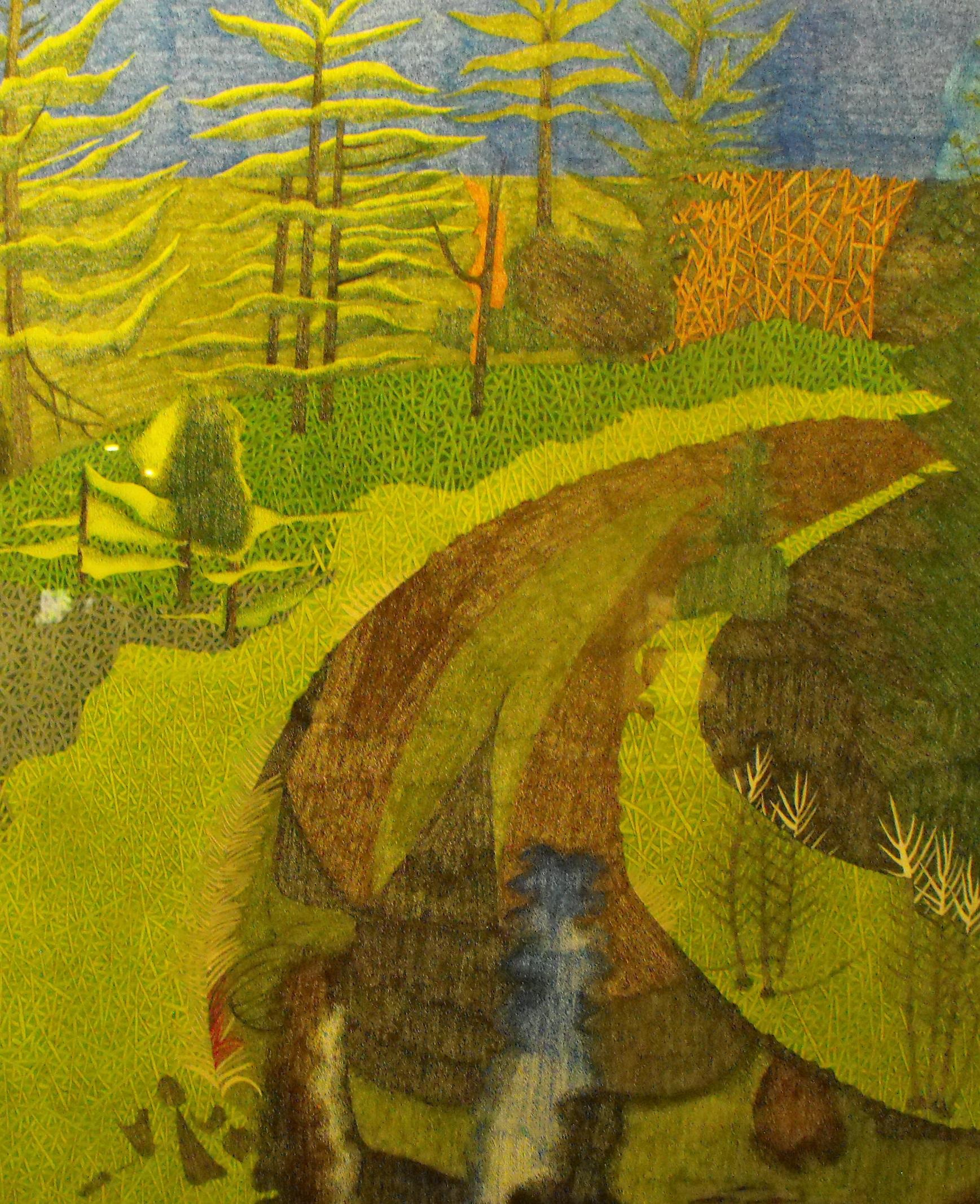Artfest 55 Best in Show Boardman River by Jean Mathieu