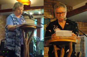 Artfest 55 Winning Writers Nancy Renko and Jim Crissman